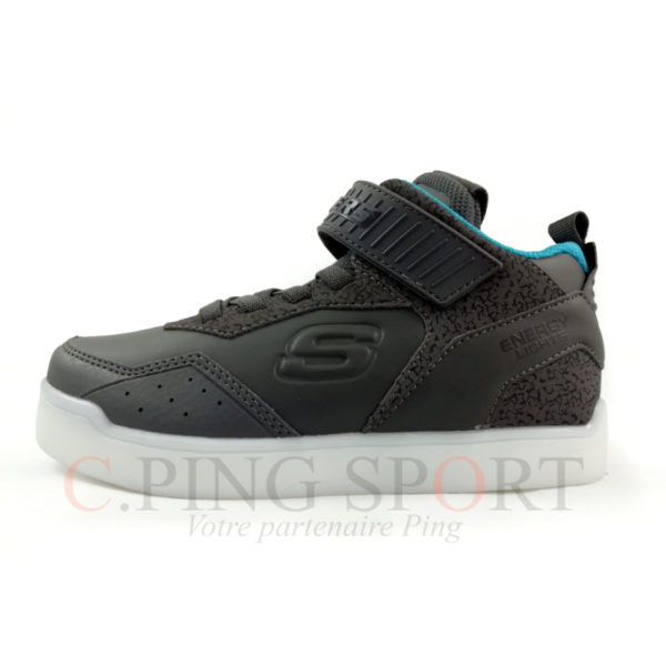Skechers Boys Energy Lights E Gris