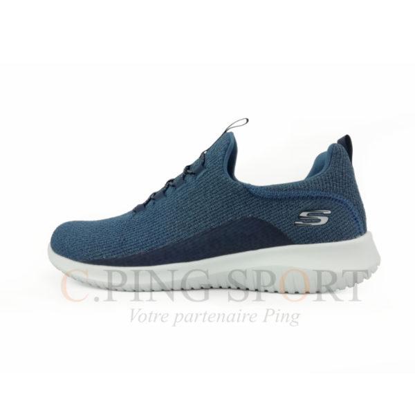 Skechers Ultra Flex F Bleu